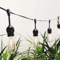 Solární LED Girlanda