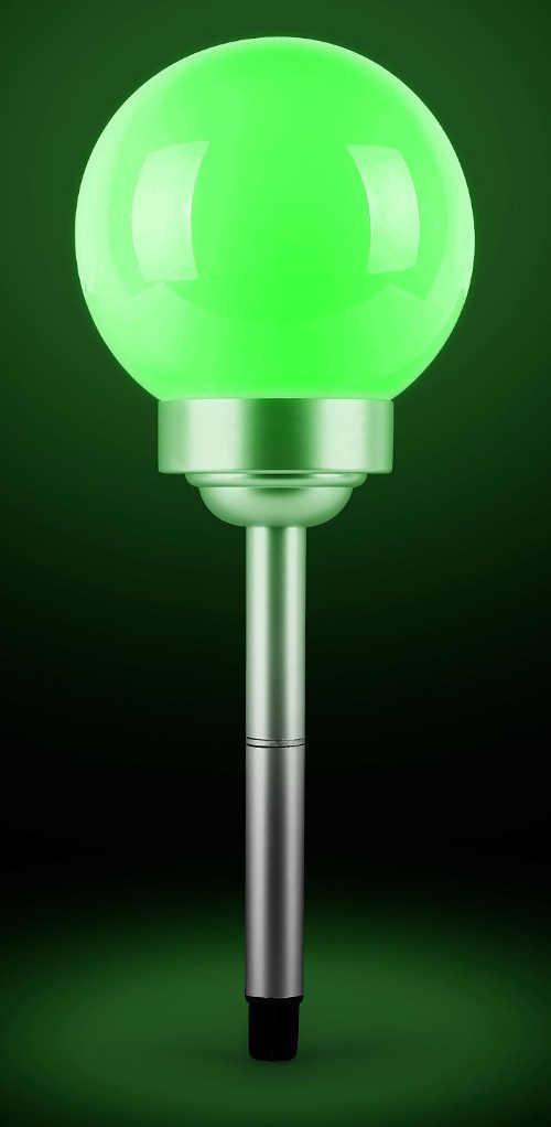 Zelené solární LED osvětlení na zahradu