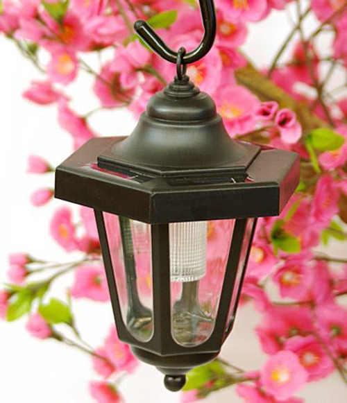 Romantická lampička na zahradu