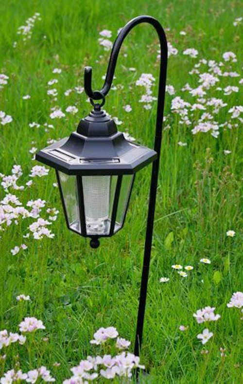 Stojací zapichovací lampa na zahradu