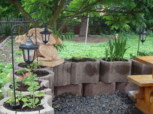 Dekorativní stojací LED lampy na zahradu
