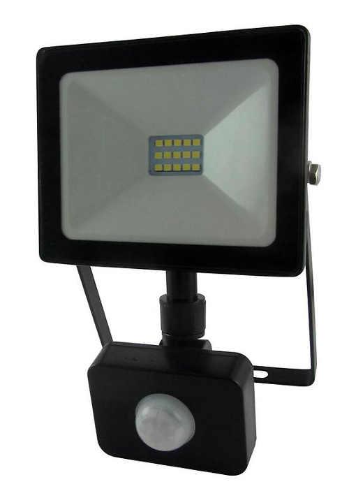 Levný venkovní LED reflektor s pohybovým čidlem