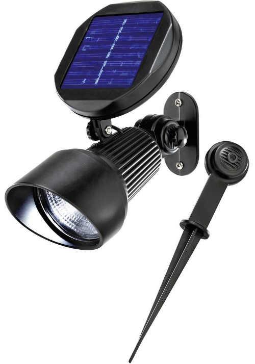 Solární LED svítidlo Esotec Spotlight s možností upevnění na fasádu domu