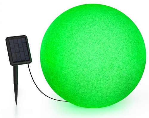 Velká svítící LED koule na zahradu průměr 50 cm