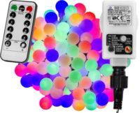 Venkovní barevné LED párty osvětlení s dálkovým ovladačem