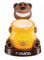 Dětská LED projektová lampička medvídek