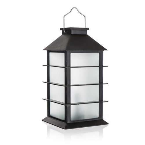 Solární LED lampa v designu lucerny