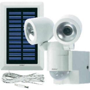 Solární LED svítidlo s detektorem pohybu