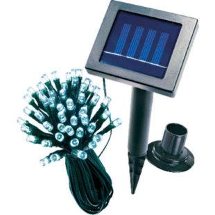 Venkovní moderní a praktický solární LED řetěz