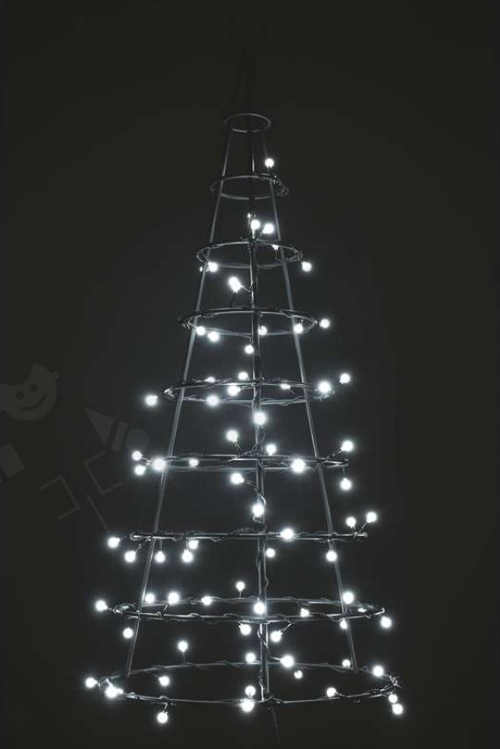 moderní a úsporný vánoční led řetěz