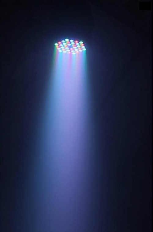 moderní led barevný reflektor nejen na párty