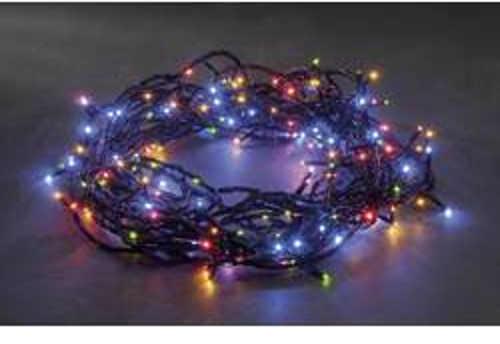 Multifunkční vánoční barevný řetěz do exteriéru