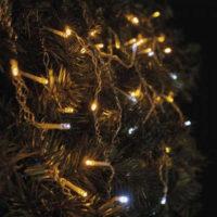 Vánoční blikající řetěz ve tvaru krápníků