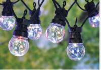 Venkovní LED řetěz v moderním designu