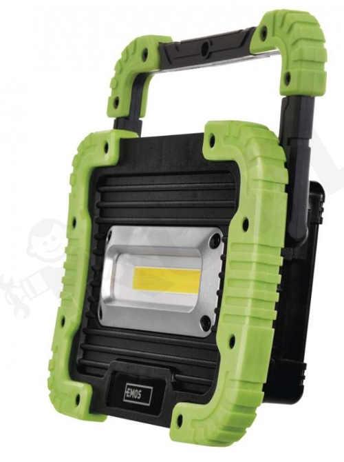 praktický LED nabíjecí reflektor