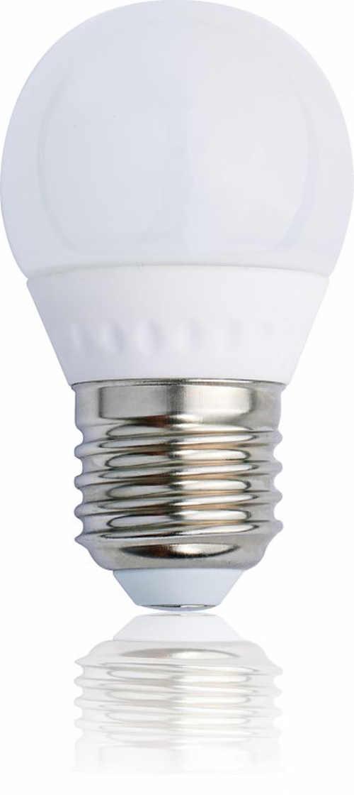 LED Tesla žárovka E27 - teplá bílá