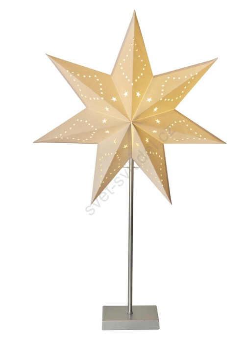 LED vánoční dekorace - hvězda