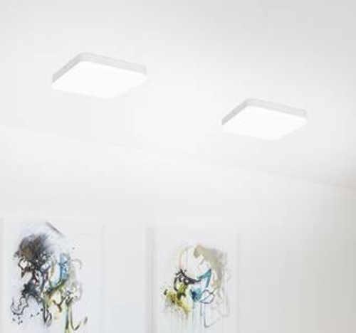 bílé led stropní světlo