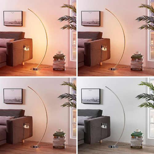 moderní lampa stojací led