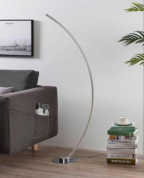 moderní stojací led lampa