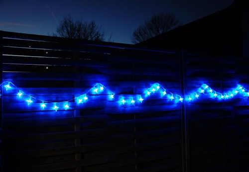 vánoční led světelné osvětlení