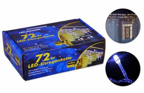 Vánoční světelný LED řetěz německá kvalita