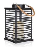 Venkovní solární lampička imitující svíčku