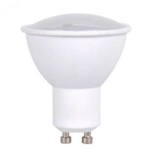 LED žárovka bodová v bílém provedení