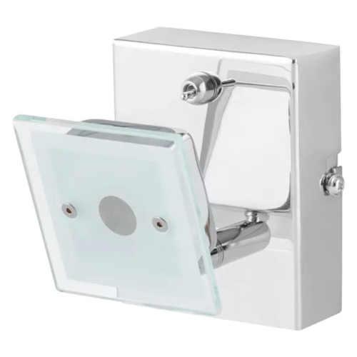 bodová lampa v bílém provedení
