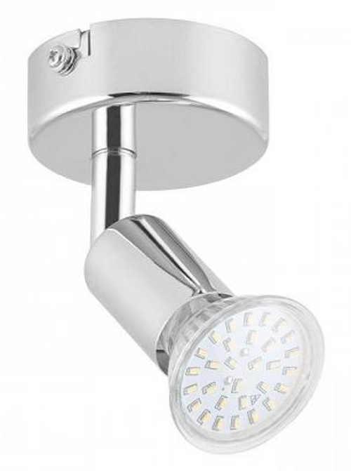 LED bodová naklonitelná otočná lampa Lightcraft Kvalfoss 1, 3 W