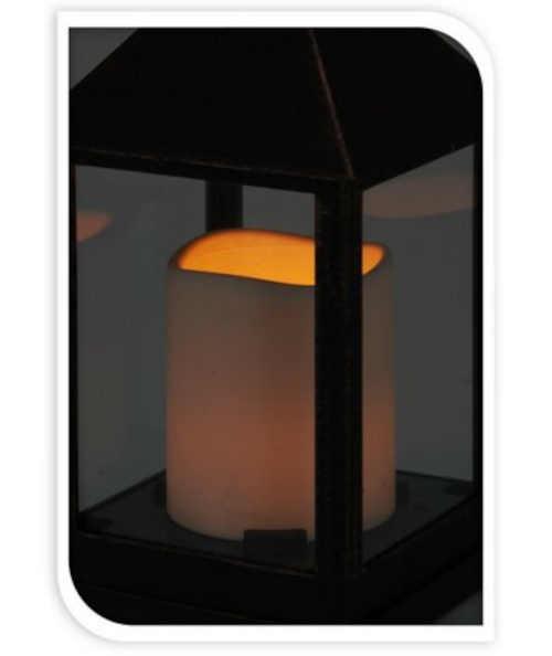 lucerna s praktickou led svíčkou