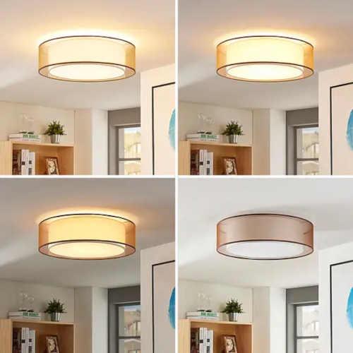 moderní stropní led lampa