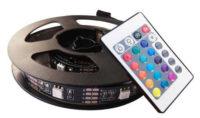 RGB LED pásek s dálkovým ovládáním za televizi