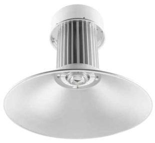 Stříbrný vysoce výkonný LED reflektor s výkonem 100 W