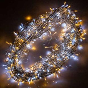 Vánoční LED osvětlení pro mnohostranné využití