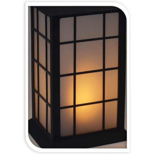 krásná solární LED lucerna
