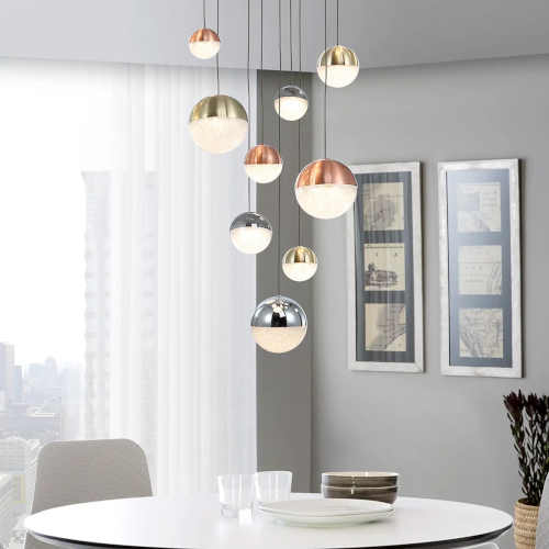 moderní závěsné LED světlo