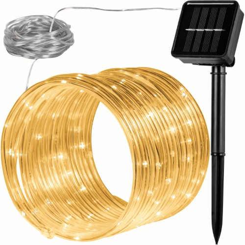 Solární světelná hadice 100 LED