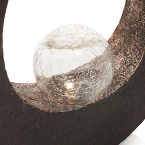 svítidlo led ve tvaru půlměsíce