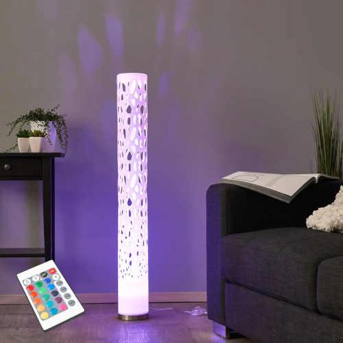 Dekorativní moderní stojací LED lampa
