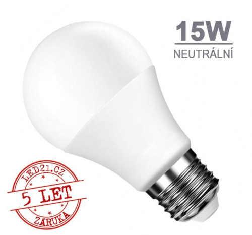 LED žárovka E27 15W SMD2835