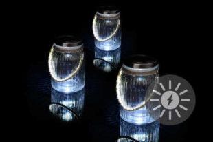 Solární dekorativní osvětlení do exteriéru