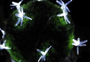 Venkovní solární dekorativní LED osvětlení