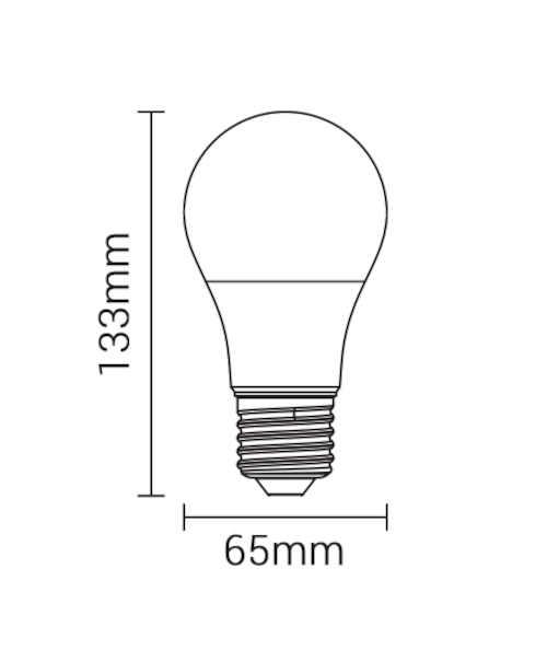 úsporná LED žárovka SMD