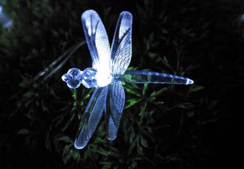 venkovní LED světelný řetěz