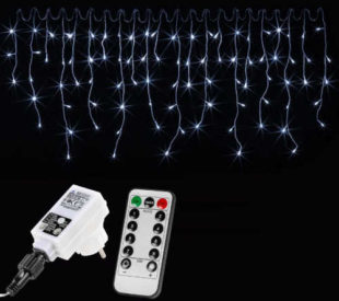 LED světelný řetěz pro celoroční využití