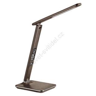 Stmívatelná stolní lampa s displejem