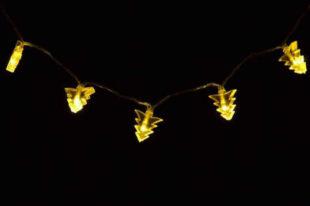 Světelný řetěz se stromečky pro vnitřní použití