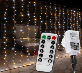 Vánoční světelný řetěz do bytu i zahrady