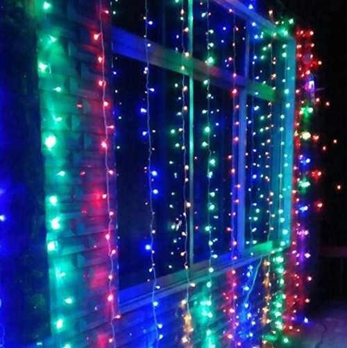 barevný řetěz do bytu i ven